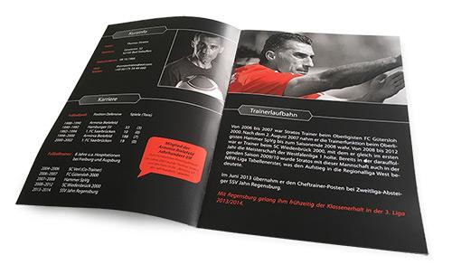 Gestaltung und Druck Broschüren Bielefeld