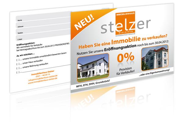 Gestaltung und Druck Postkarten Bielefeld