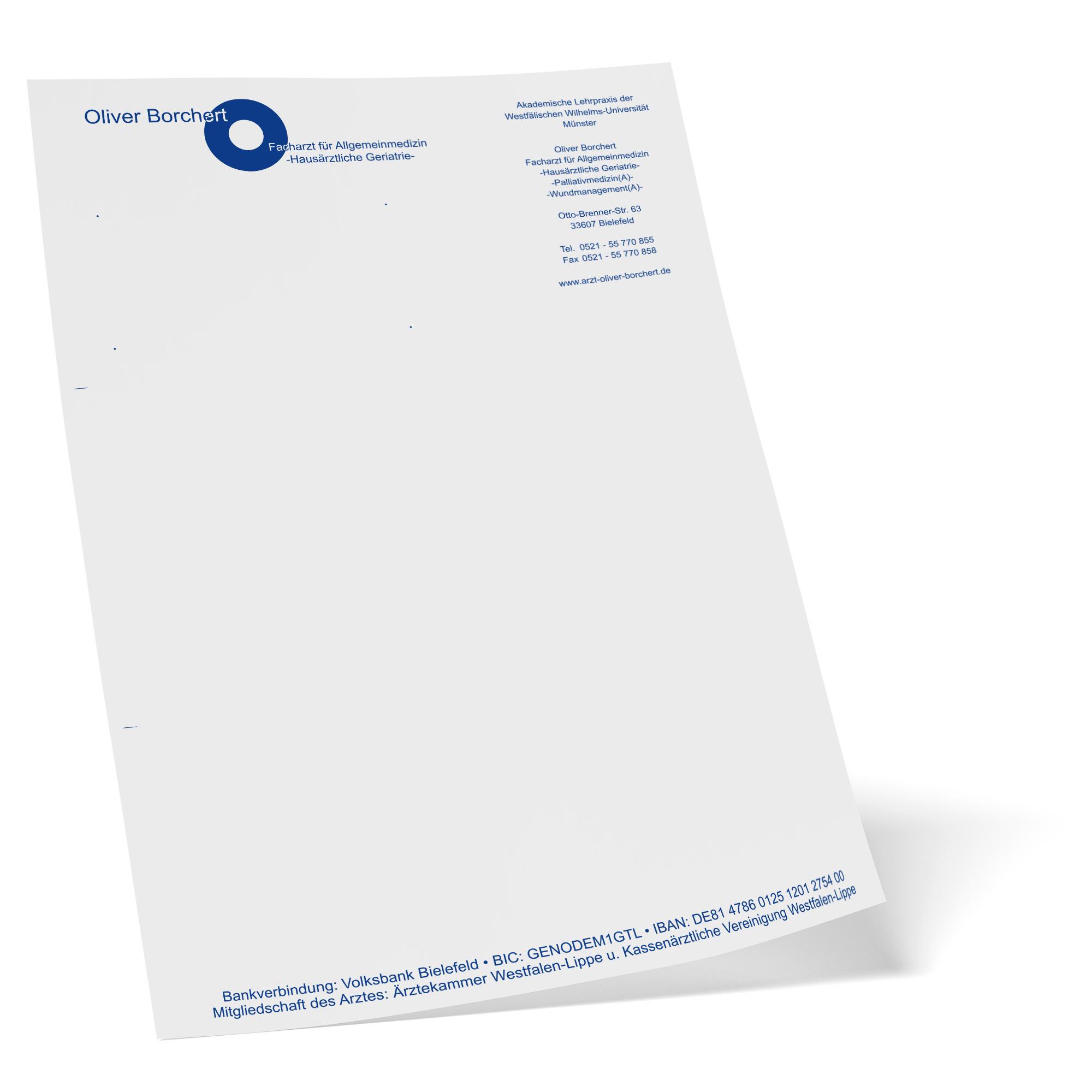 Briefpapier erstellen lassen in Bielefeld