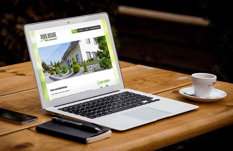 Webseite die man selber pflegen kann Bielefeld