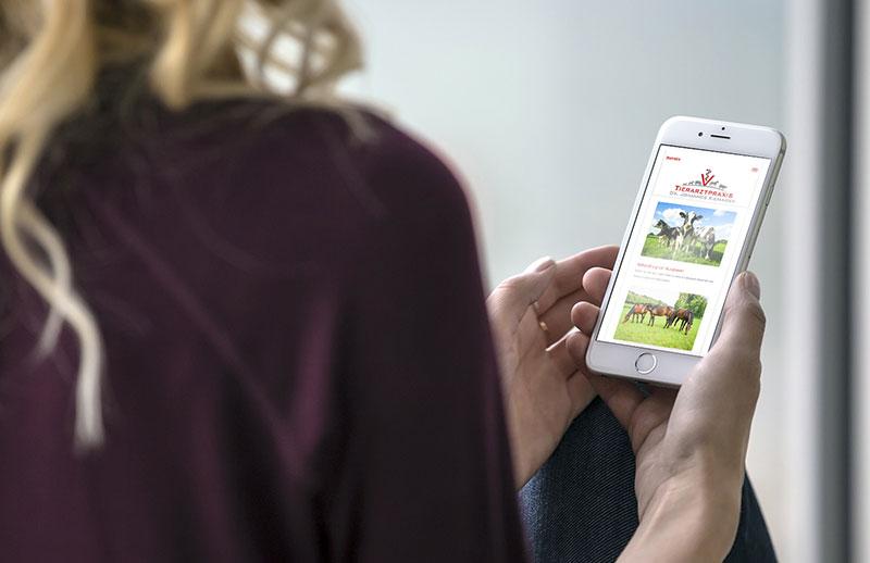Mobile Website erstellen lassen Bielefeld
