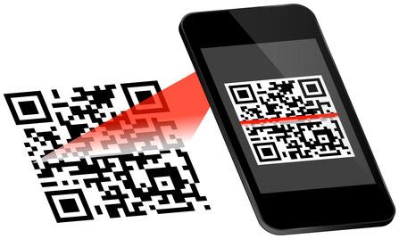 QR-Code Daten-Erstellung Vektorgrafik