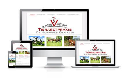 Webdesign für Tierarzt Bielefeld