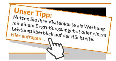 Visitenkarten gestalten und drucken lassen Bielefeld